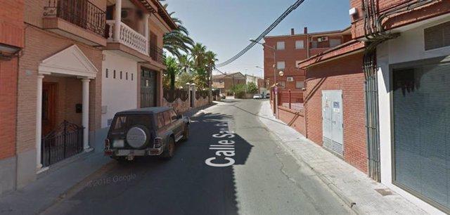 Calle San Rafael de Fuensalida