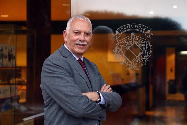 El president del Col·legi de Censors Jurats de Comptes de Catalunya (CCJCC), Antoni Gómez.