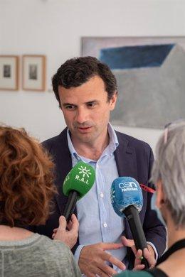 Archivo - El vicesecretario de Política Municipal y Turismo del PP-A, Bruno García, en una foto de archivo.