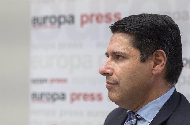 Archivo - El vicepresidente del Banco Europeo de Inversiones (BEI) Ricardo Mourinho Félix.