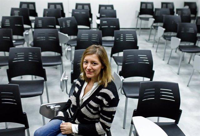 Secretaria general de Cáritas Española, Natalia Peiro.