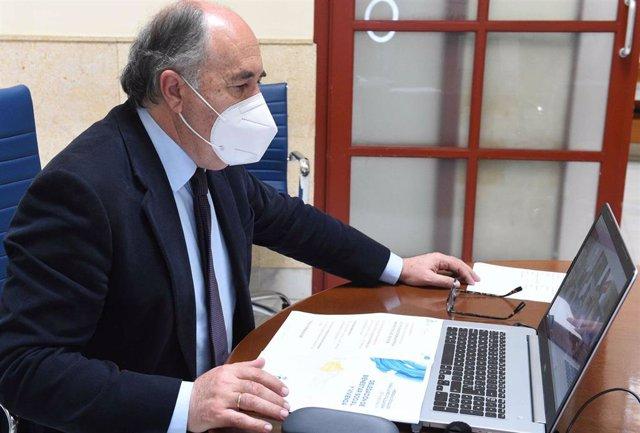 Archivo - José Ignacio Landaluce, alcalde de Algeciras, en una foto de archivo.
