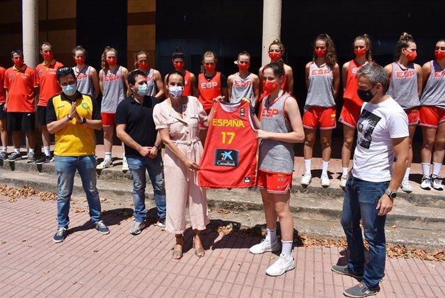 La selección española sub-18 de baloncesto femenino llega a Ciudad Real para preparar el Challenge de su categoría