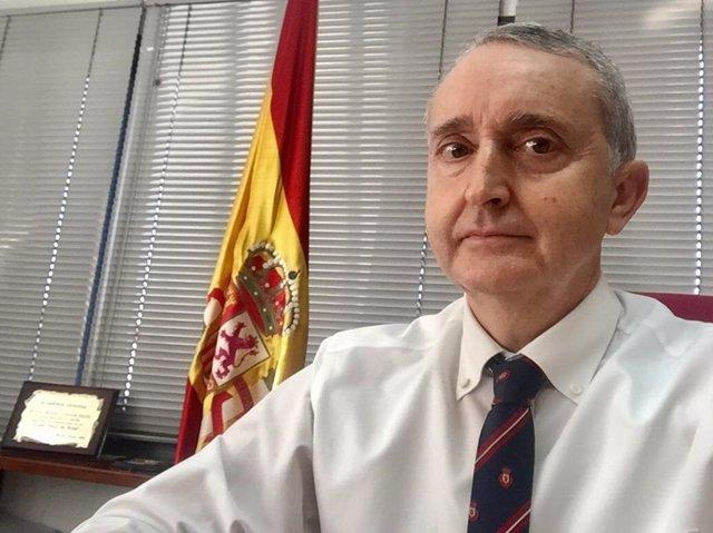 Archivo - El presidente de Vox Melilla, José Miguel Tasende