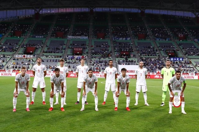 El once titular de la selección olímpica española para el amistoso ante Japón