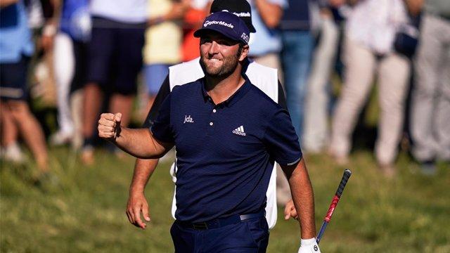 Archivo - El golfista vasco Jon Rahm