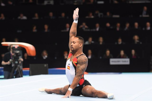 Rayderley Zapata, principal baza de la gimnasia artística española en los Juegos de Tokyo 2020.