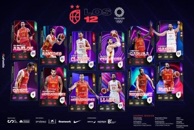 Juancho Hernangómez entra en la lista definitiva de Scariolo para los Juegos de Tokyo 2020