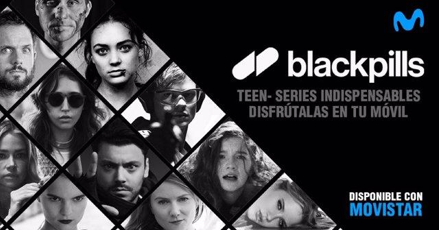 Blackpils, el nuevo servicio de series cortas para el móvil de Telefónica