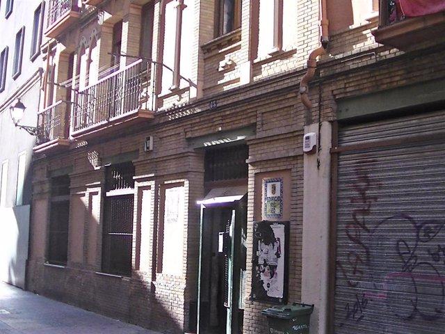 VOX alerta del incremento de 'okupación' ilegal en Pignatelli y pide implantar más cámaras de vigilancia.