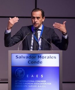 El Dr. Salvador Morales, Conde ha tomado posesion como presidente de la EAES, European Association for Endoscopic Surgery.