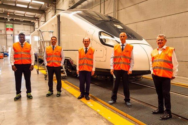 Repsol y Talgo impulsan el tren de hidrógeno renovable