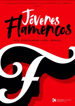Cartel del certamen Jóvenes Flamencos.