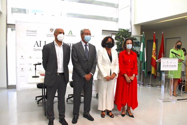 Presentación del centro de Inteligencia Artificial creada por Minsait, la Universidad de Granada y Google Cloud