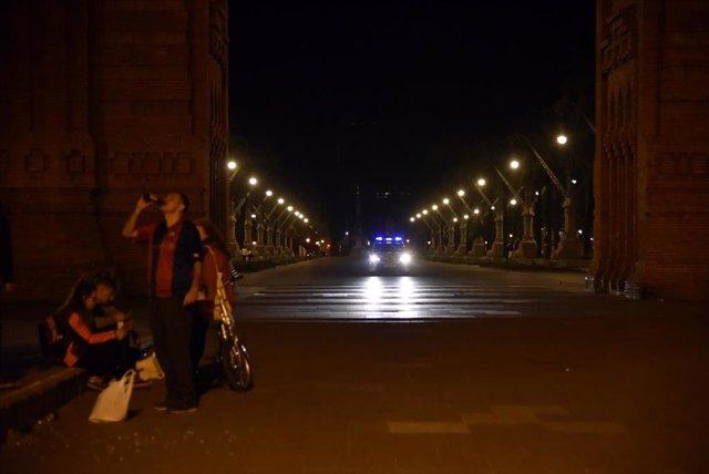 Archivo - El Arco de Triunfo de la ciudad de Barcelona, en una foto de archivo.