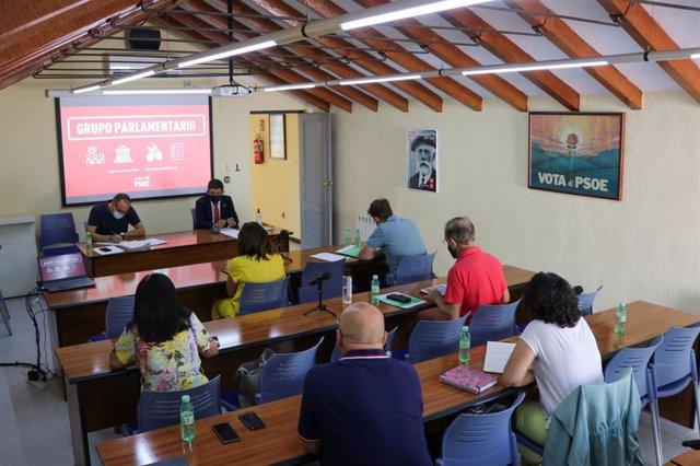Reunión del Grupo Parlamentario del PSOE