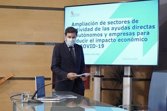 Carlos Fernández Carriedo. Consejero de Economía y Hacienda