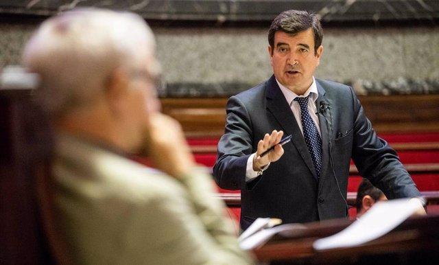 Archivo - El portavoz de Ciudadanos en el Ayuntamiento de València, Fernando Giner