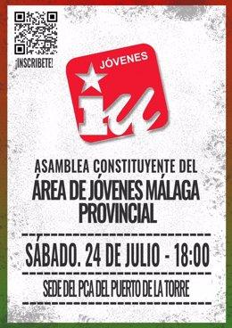 IU Málaga presenta el Área Joven provincial