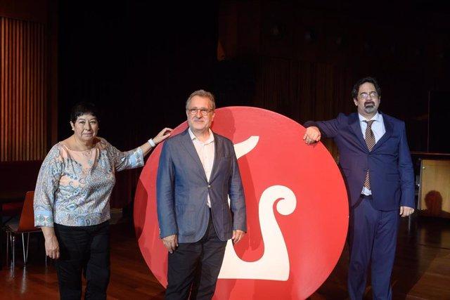 Conxita Garcia, Josep Pons y Pablo Assante