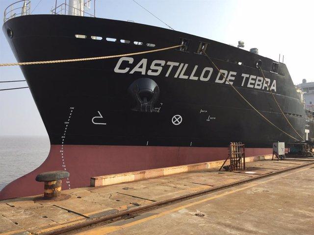 Archivo - Petrolero grupo naviero Elcano