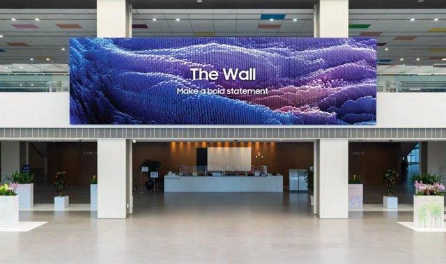 Panel modular The Wall (2021) de 1000 pulgadas