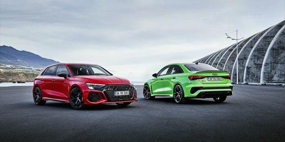 1. Audi lanza los nuevos RS 3, con hasta 400 caballos