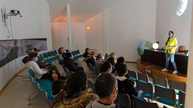Actividad del Observatorio Astronómico de Cantabria