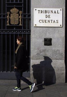 Archivo - Fachada del Tribunal de Cuentas