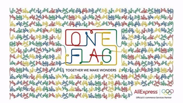 AliExpress lanza la iniciativa 'One Flag' para apoyar a los olímpicos en Tokyo 2020.