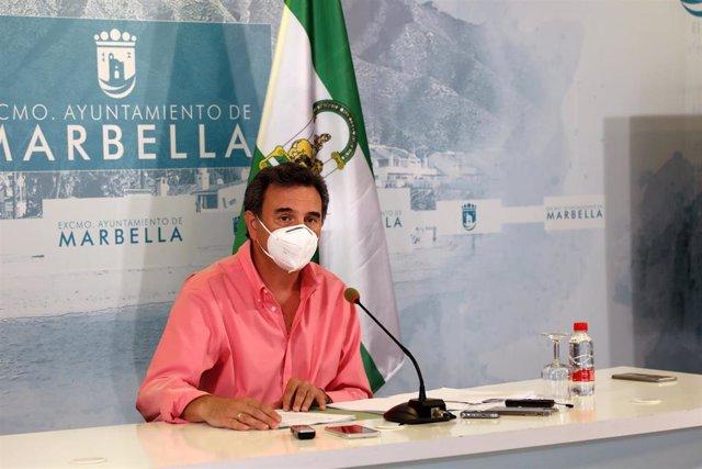 El portavoz municipal de Marbella (Málaga), Félix Romero.