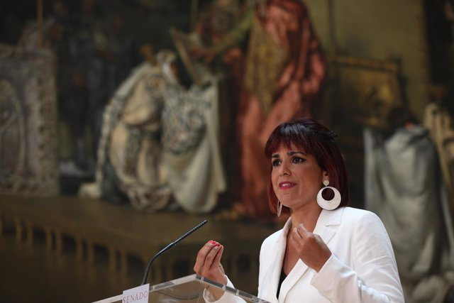 Archivo - La líder de Anticapitalistas en Andalucía y diputada autonómica, Teresa Rodríguez, en una foto de archivo.