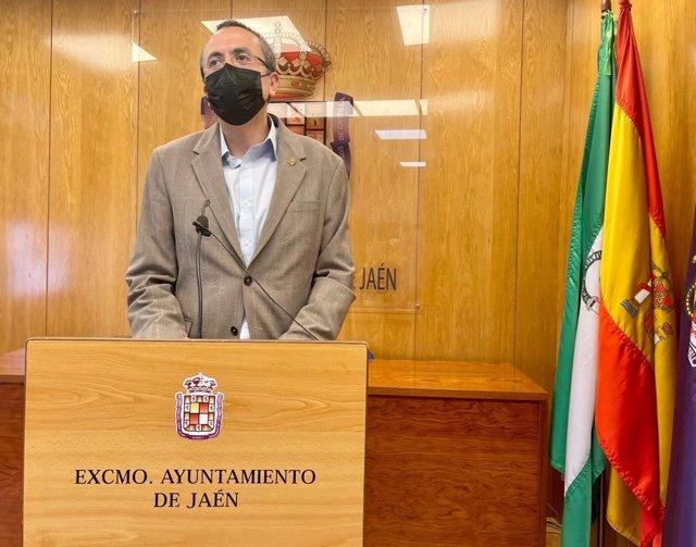 El portavoz en el Ayuntamiento de Jaén, Manuel Bonilla