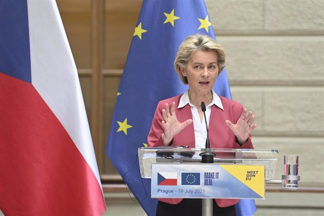 La presidente de la Comisión Europea, Ursula von der Leyen.