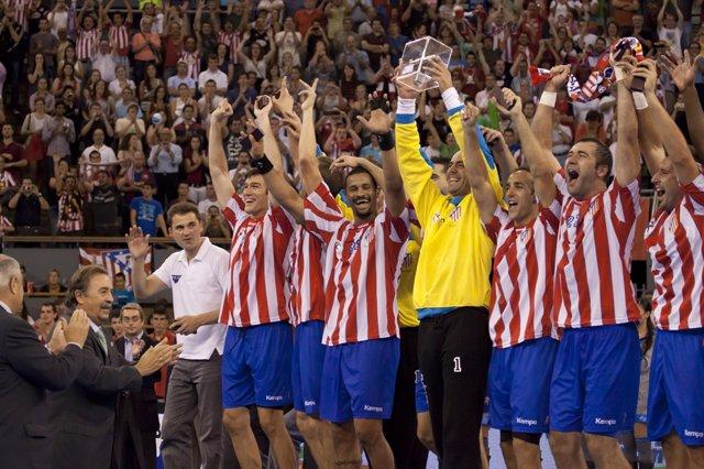 Archivo - Balonmano Atletico De Madrid Supercopa 2. Archivo