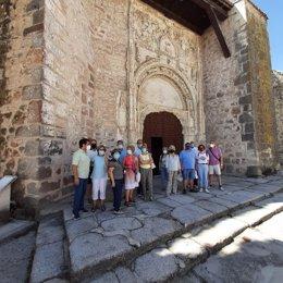 Visita a la Tierra de Pinares dentro del programa 'Viajero, yo te enseñaré Segovia'.