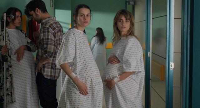Escena de la nueva película de Almodóvar, 'Madres paralelas'