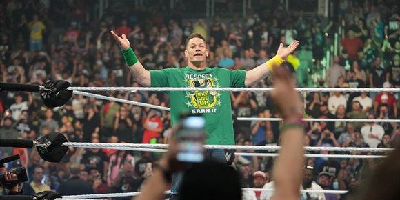 10. John Cena vuelve a la WWE en Money In The Bank