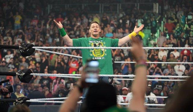 John Cena vuelve a la WWE en Money In The Bank