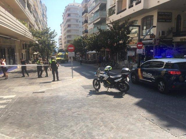 Calle de Marbella donde ha ocurrido el suceso