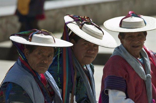 Indígenas en Chiapas, México