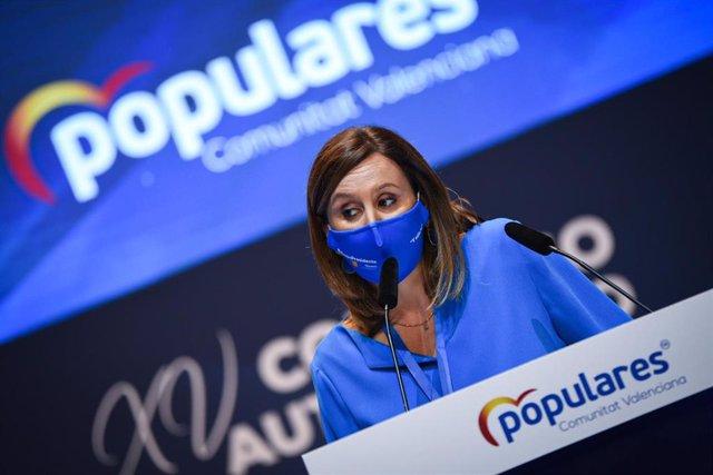 La portavoz del PP en el Ayuntamiento de Valencia y secretaria general del PPCV, María José Catalá