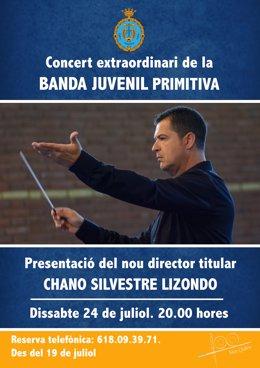 Presentación del nuevo director de la Banda Juvenil de la Primitiva de Llíria