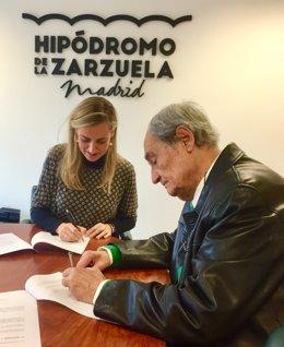 Archivo - Firma del acuerdo para la Biblioteca Miguel Ángel Ribera