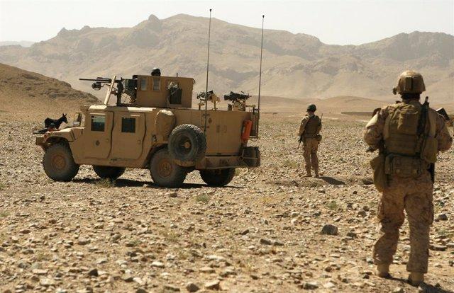 Una patrulla del Ejército de Estados Unidos en el este de Afganistán.