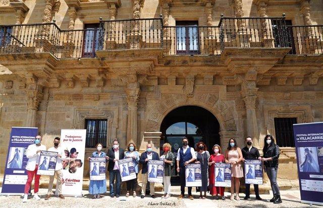 Presentación del Festival Internacional de Villacarriedo.