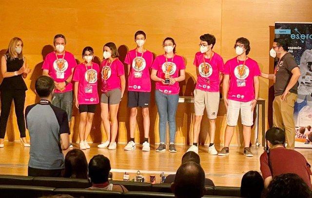 El equipo 'Argonautex' del IES Viera y Clavijo