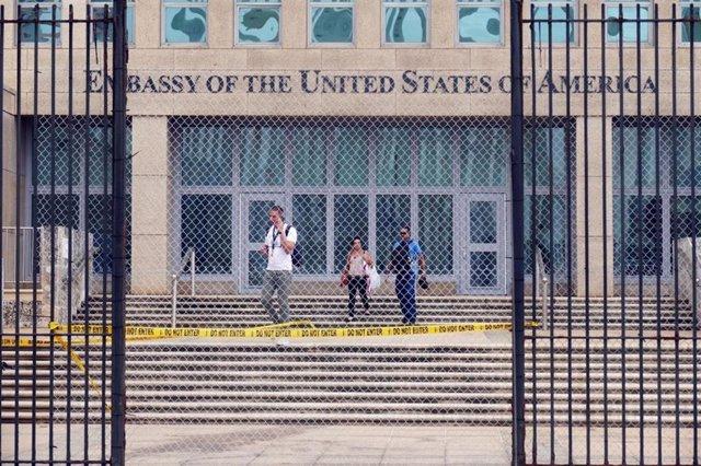 Archivo - Embajada de Estados Unidos en La Habana