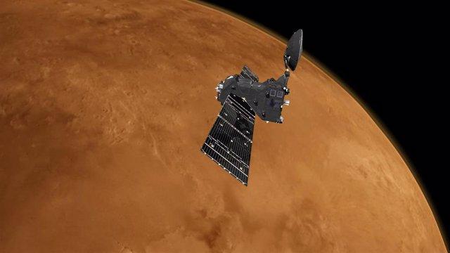 Archivo - La misión ExoMars TGO encuentra ozono y CO2 en la atmósfera de Marte