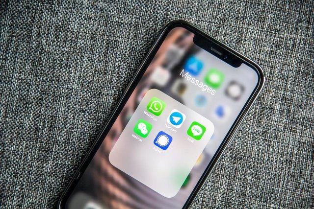 Aplicaciones de mensajería en el móvil
